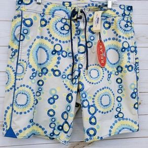 NEW Tommy Bahama Relax board shorts L blue